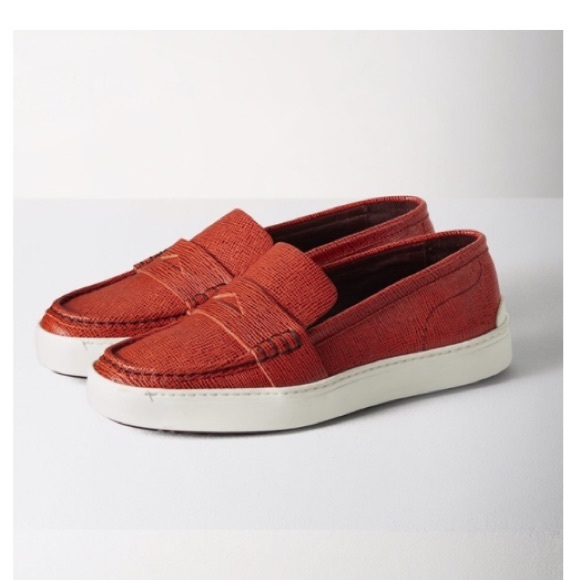 515e230c12c Rag And Bone Colby red embossed sneaker loafers. M 5b7c7cb70e3b868dce45f01b